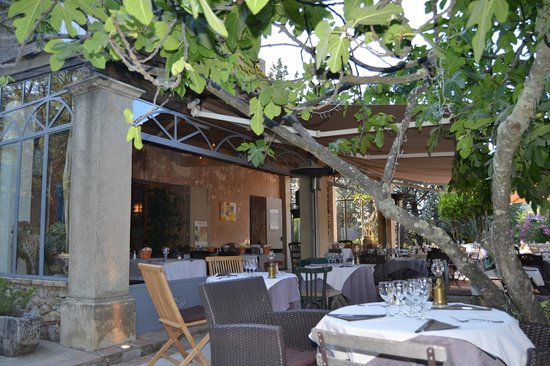 Ferme Ladouceur: terrasse-restaurant