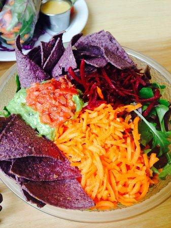 Hip Vegan Cafe: Mexican bowl