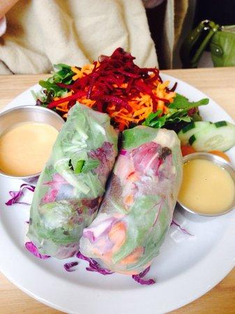 Hip Vegan Cafe : Indo wrap