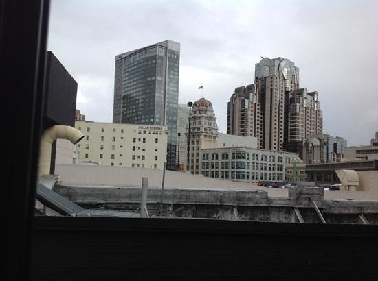 Hotel Union Square : the view from the penthouse rooftop access