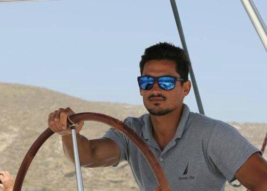 Sunset Oia Sailing - Day Tour: captain spiros