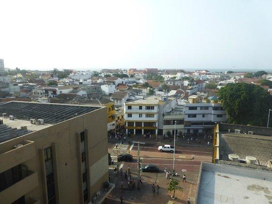 Hotel Stil Cartagena: Vista desde el piso octavo