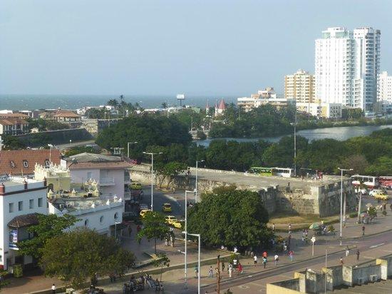 Hotel Stil Cartagena : Vista desde la Habitación