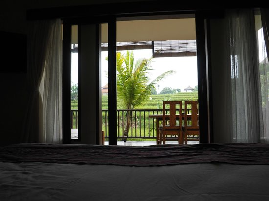 Biyukukung Suites and Spa: View from bed