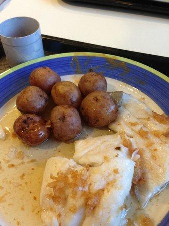 Mulakaffi : Cod with potatoes