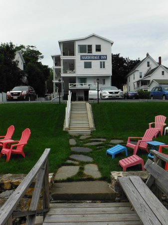 Harborage Inn on the Oceanfront: From the dock