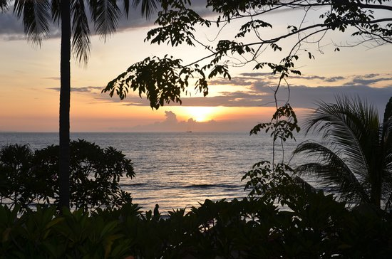 Qunci Villas Hotel : Sunset not to be missed