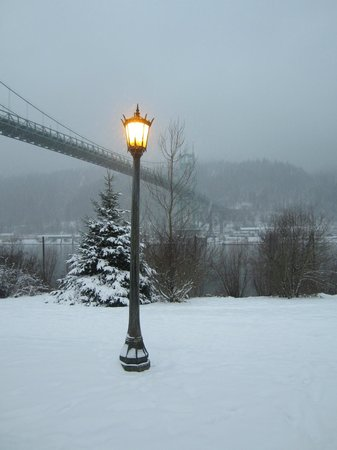St. Johns Bridge : Winter 2014 St Johns Bridge