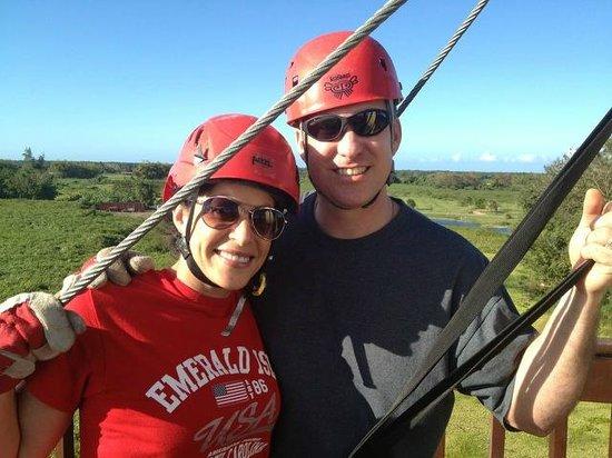 Campo Rico Ziplining Adventure : Ecoquest Ziplining - Puerto Rico