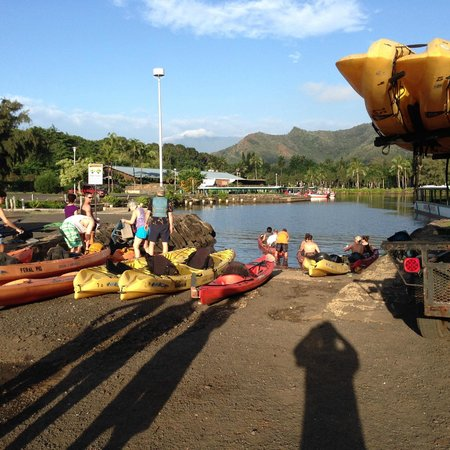 Kayak Kaua'i : Getting ready to go