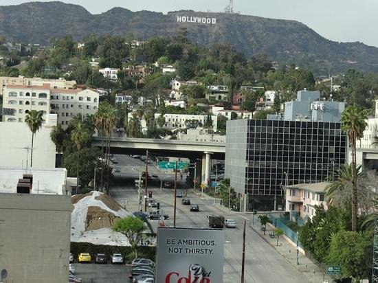 W Hollywood: View from my 9th floor window (rm 902)