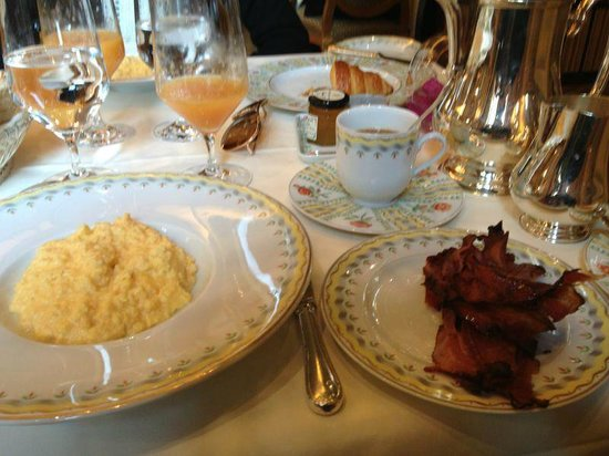 American Breakfast at the Le Cinq