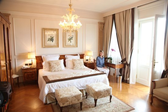 Palace Hotel Villa Cortine: Gorgeous deluxe room