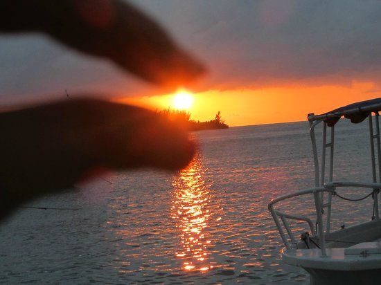 Sandals Royal Caribbean Resort and Private Island: Beautiful Sunsets
