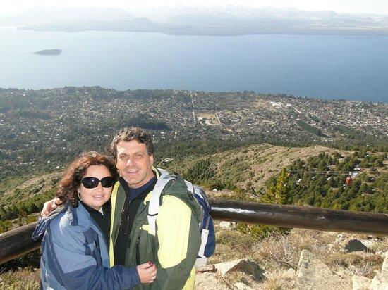 Cerro Otto: Vista de Bariloche