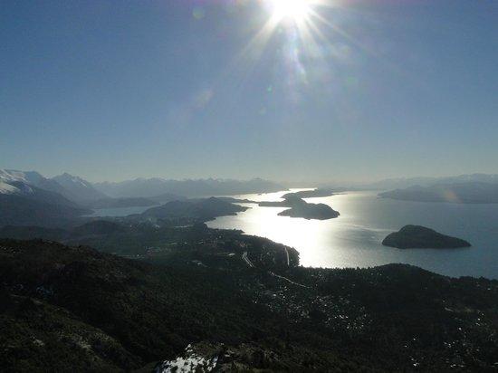 Cerro Otto: Vista do Lago