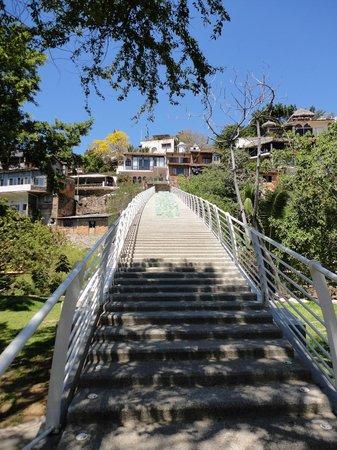 El Centro: Escaliers pour atteindre la zone romantique