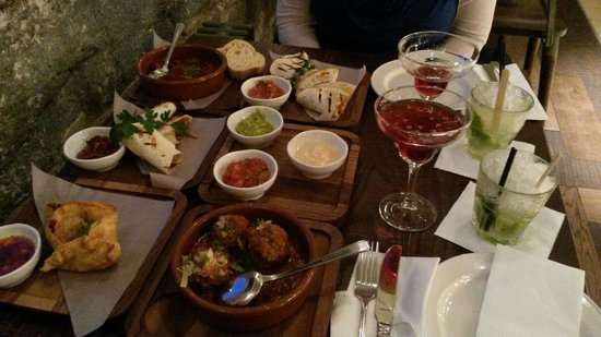 Las Iguanas - Plymouth: 5 Tapas Dishes, 3 Dips and 4 Cocktails