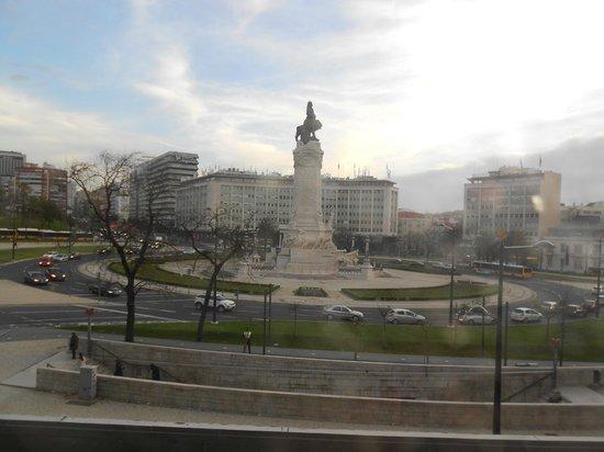 HF Fenix Lisboa : Vista da praça Marquês de Pombal
