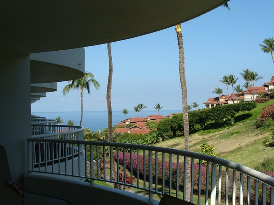 Fairmont Kea Lani, Maui : View from Partial Ocean View Suite