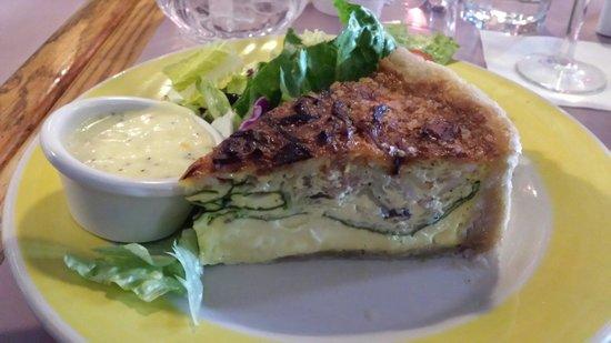 Rosie's Cafe: Quiche...not the best!