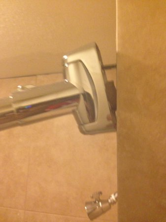 Midtown Hotel New Orleans: shower curtain rod