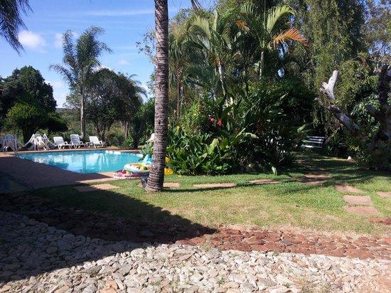 Hotel Fazenda Paraiso dos Pavoes: Piscina