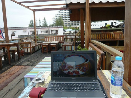 Sukkasem Guesthouse : お気に入りのスペース。