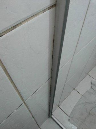 Marsallis Flat Ponta Negra: mofo e limo nos banheiro