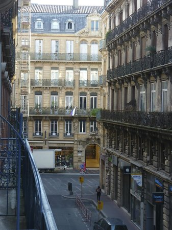 Hotel Albert 1er: view from our room