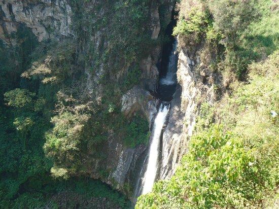 Xico, Mexico: Cascada de Texolo...