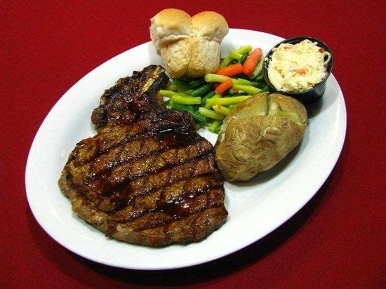 Doryman Pub & Grill: 12oz Rib Eye Steak Dinner