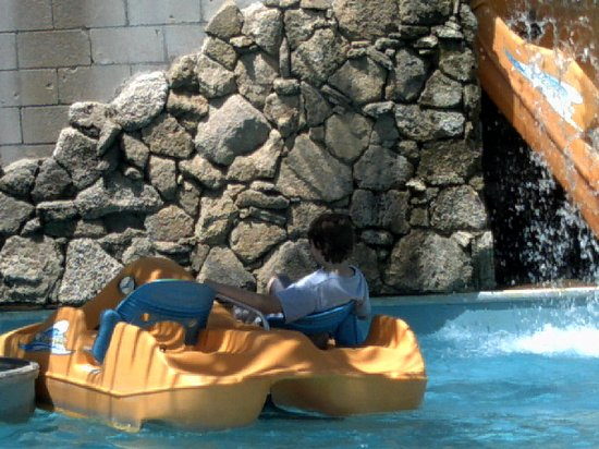 Andretti Thrill Park: pedal boats