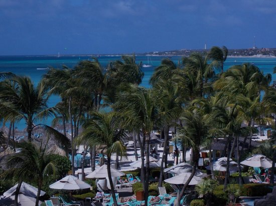 Occidental Grand Aruba All Inclusive Resort: View from room 1523