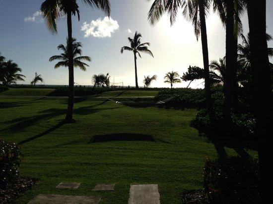 Four Seasons Resort Nevis, West Indies : bldg 6, 1st floor view