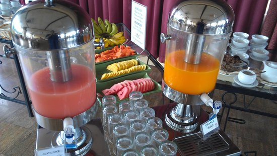 Sapphire Hotel: juices