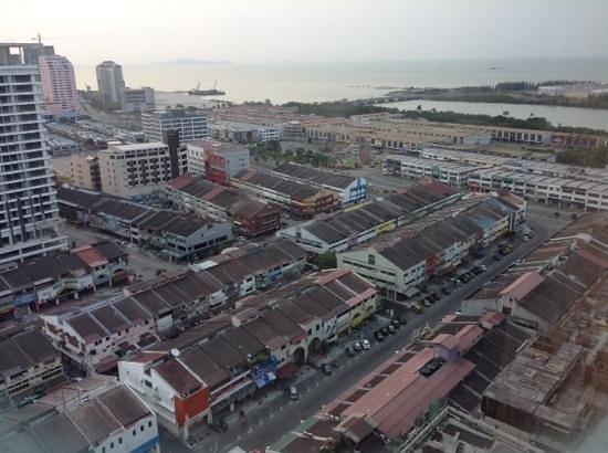 Hatten Hotel Melaka: View from the room on 19th Floor