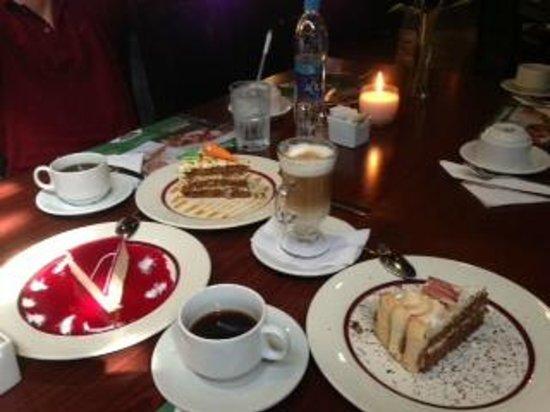Desserts at La Estancia