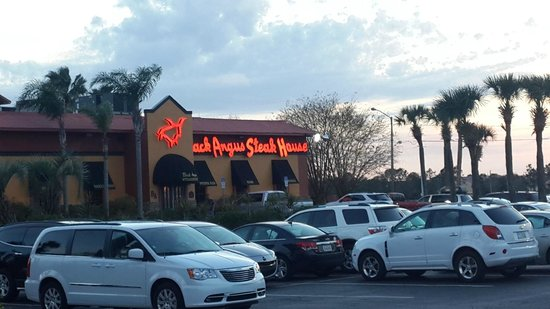 Ramada Kissimmee Gateway: Black Angus Steakhouse right next door