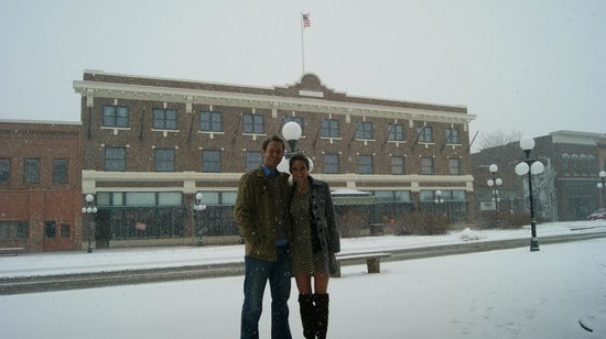 Hotel Pattee : Gorgeous hotel on a snowy day!