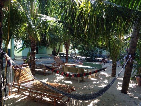 Cocosand Hotel: Hammocks