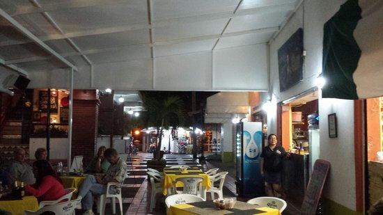 Bella Napoli: Outside seating ....