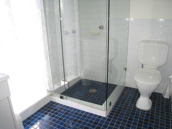 Country Lodge Motor Inn: Executive bathroom