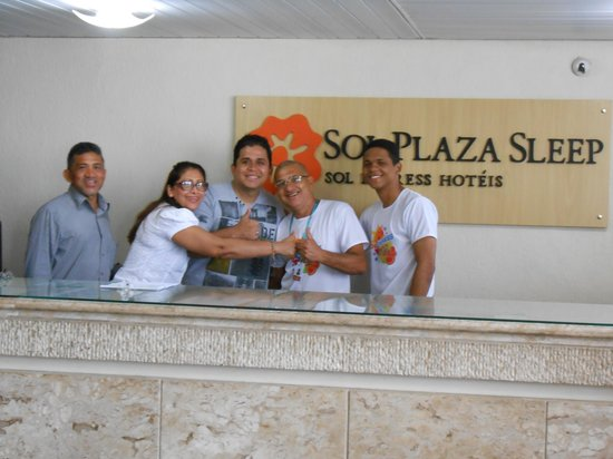 Hotel Sol Plaza Sleep: VoltRecepção
