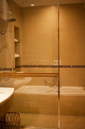 Astor House Hotel: shower area