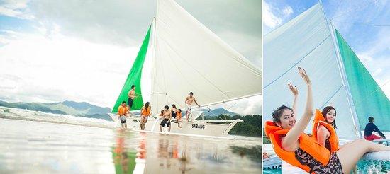 Sabang, Philippines: Sailing