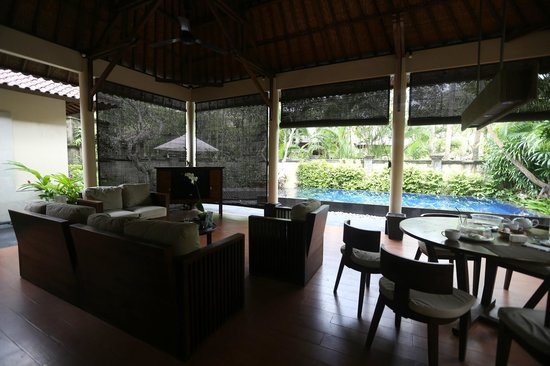Kamuela Villas and Suite Sanur: Kamuela Sanur - Bali, Indonesia - The Travel Glow - outdoor living room