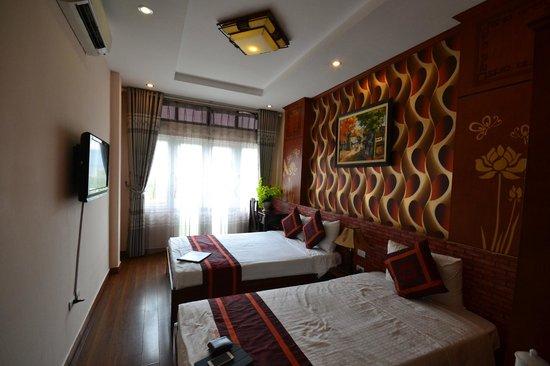 Hanoi Eclipse Hotel: Family Room