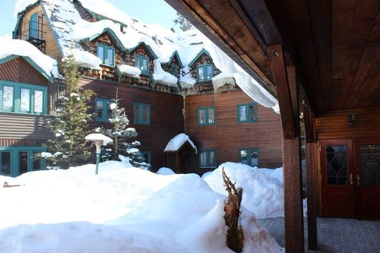 Deer Lodge: The walk to reception, the whole building is beautifully maintained and all the staff are very f