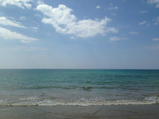 view from beachfront villa casa de la flora